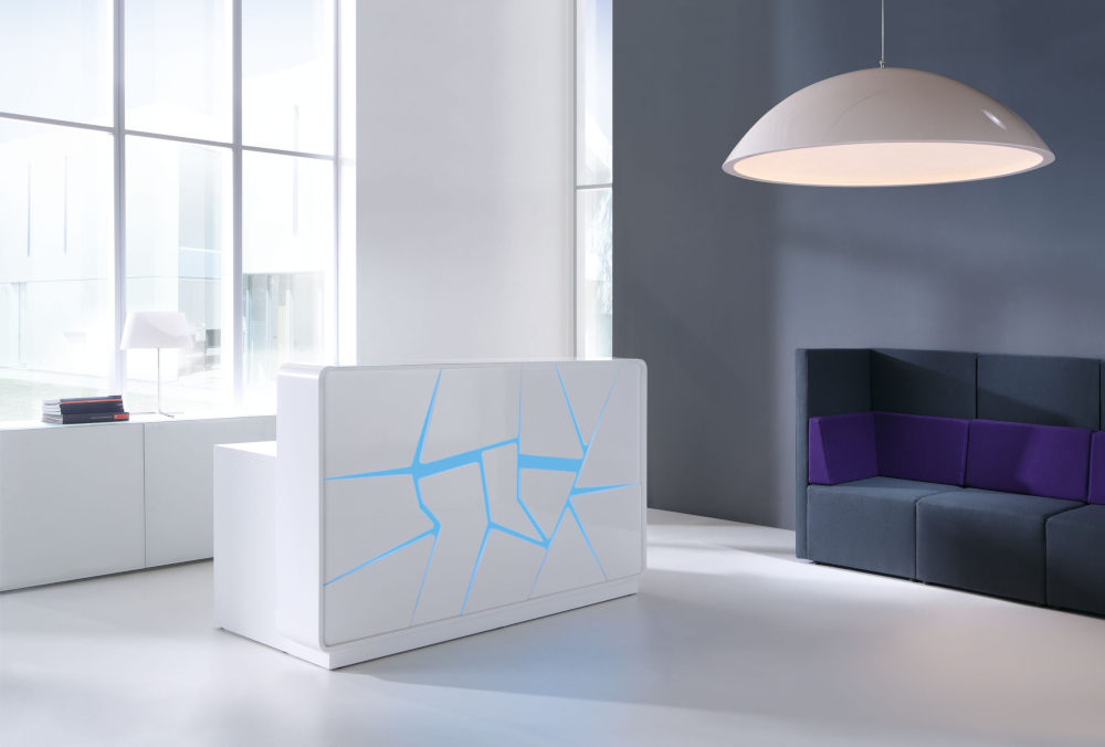 Artic Reception Counter Blue