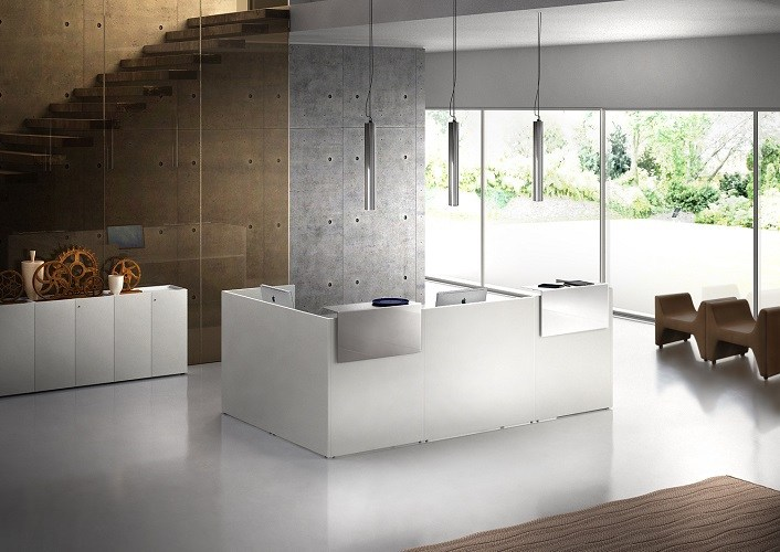 Lithos Reception Counter