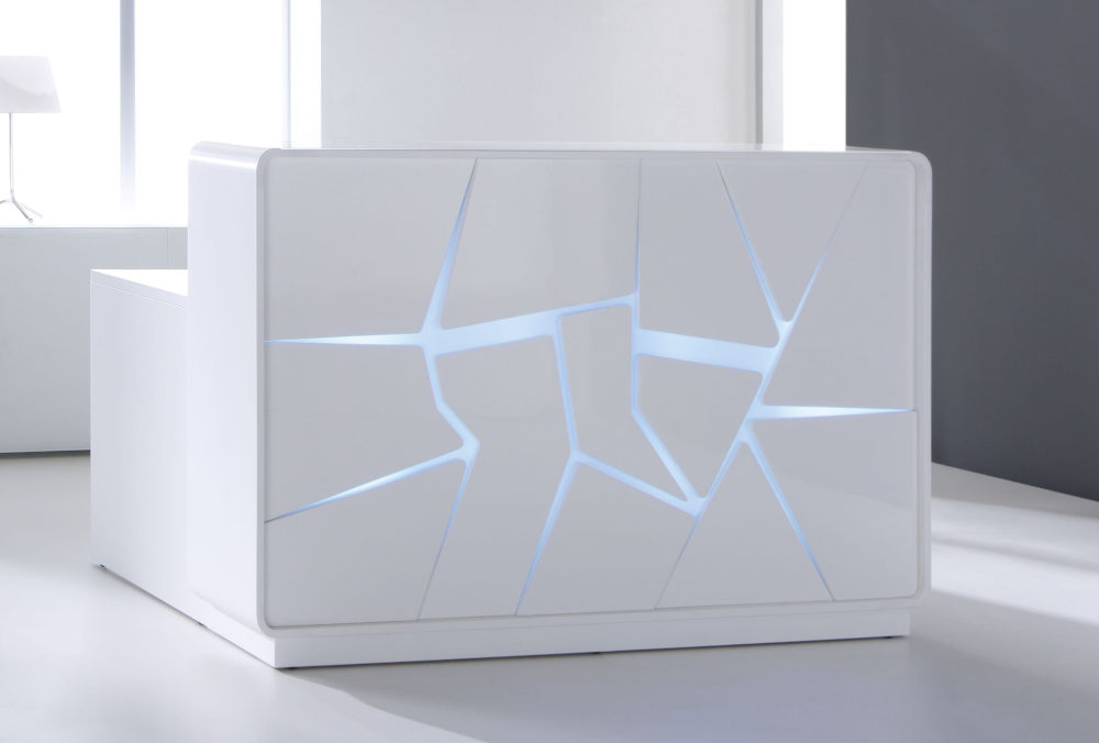 Artic Reception Counter White
