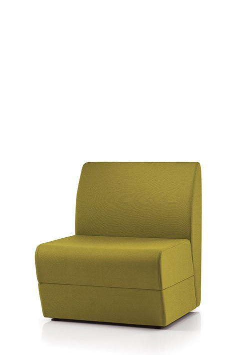 Point modular Sofa middle single section