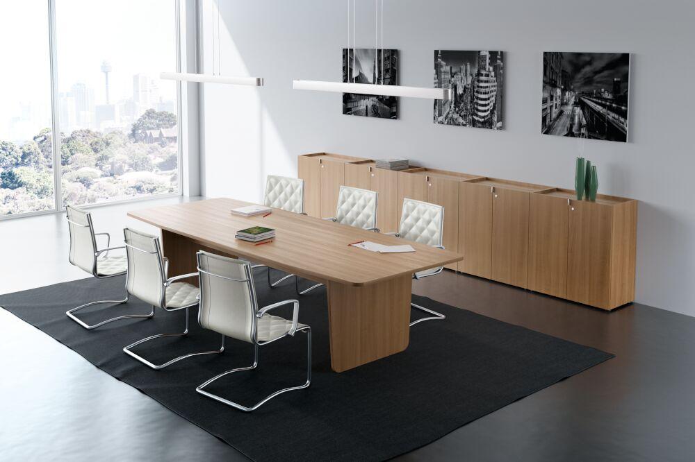 EKOMPI white meeting table