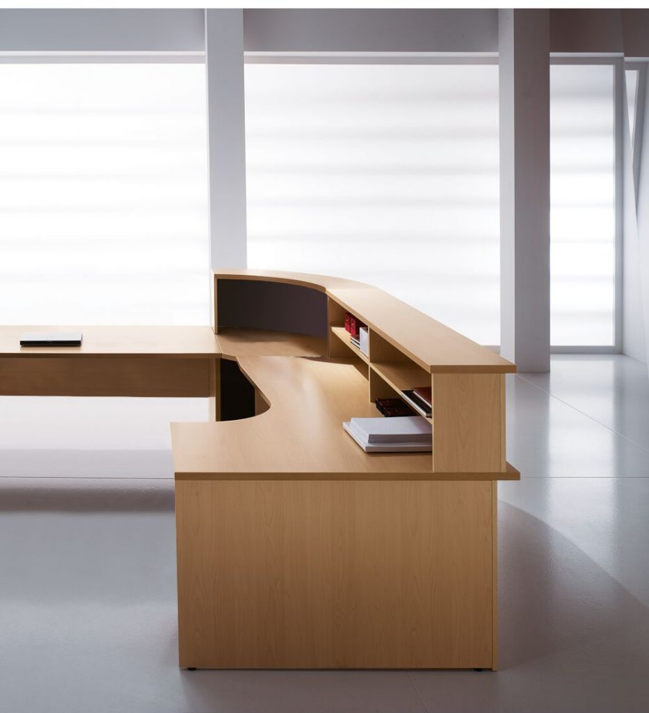 Kompas reception counter desk