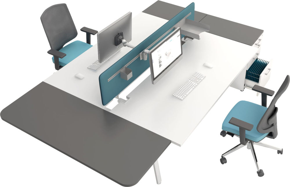 Yan bench workstation desk