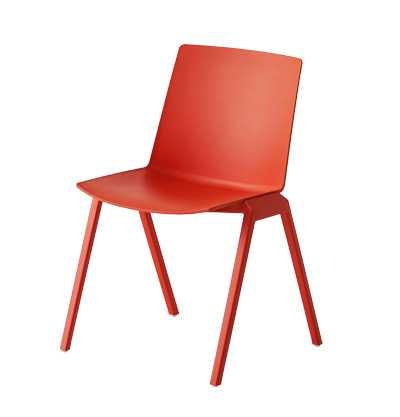 Jubel chair red four legs