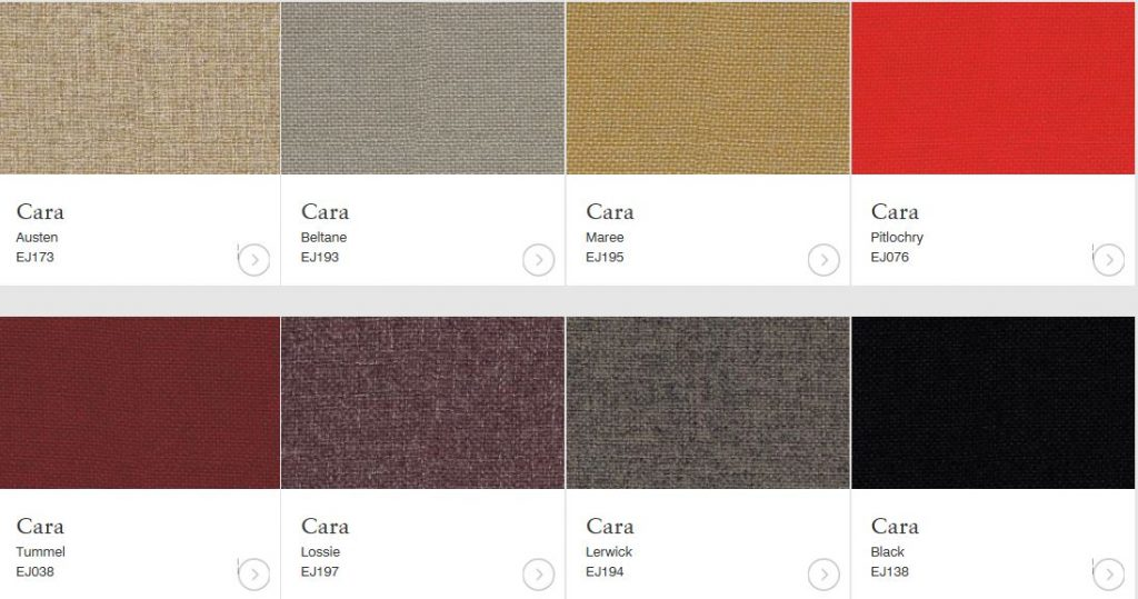 cara fabrics brown