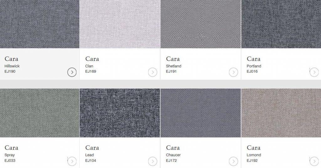 cara fabrics grey