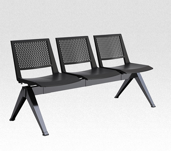 kentra bench seating black joined