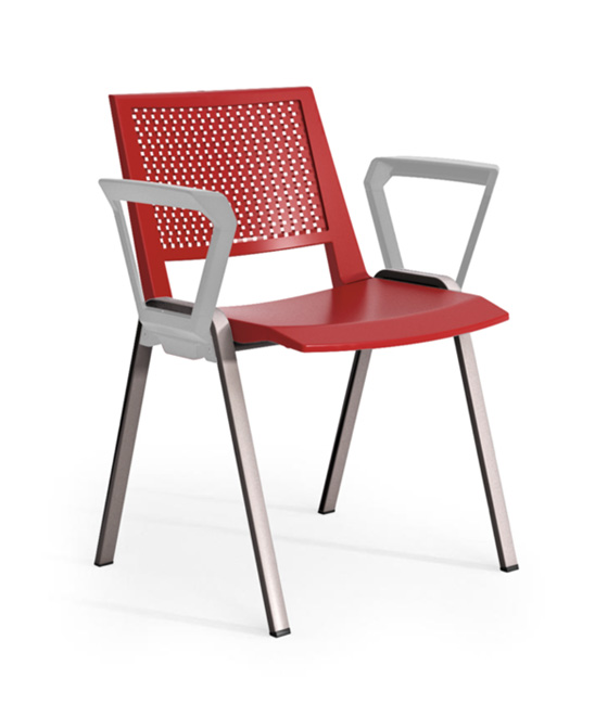 kentra chair rubyred
