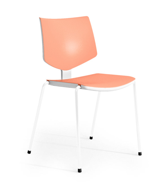 loola chair peach