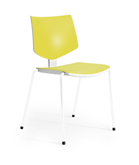 loola chair yellow