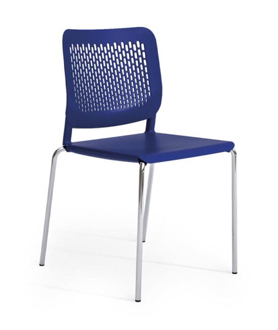 malika chair blue