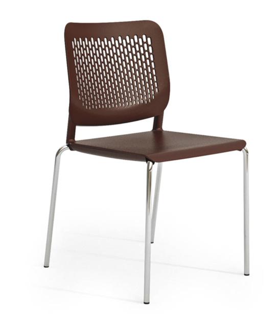 malika chair Dark brown
