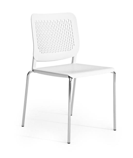 malika chair white