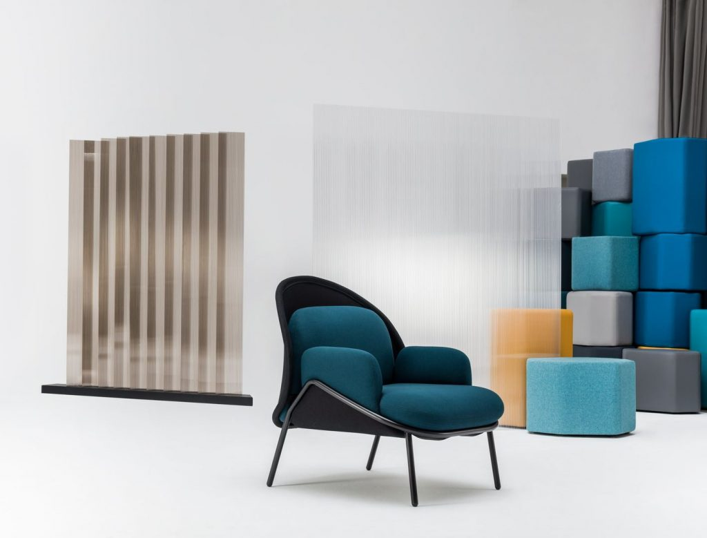 mesh armchair