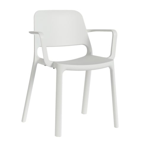 nuke chair white