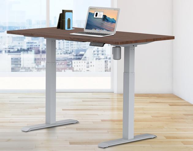 single motor sit stand desk