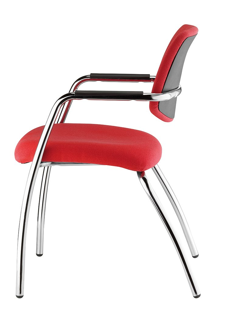 urban solid back chair