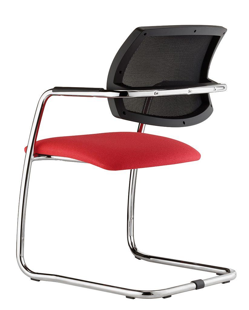 urban black mesh chair