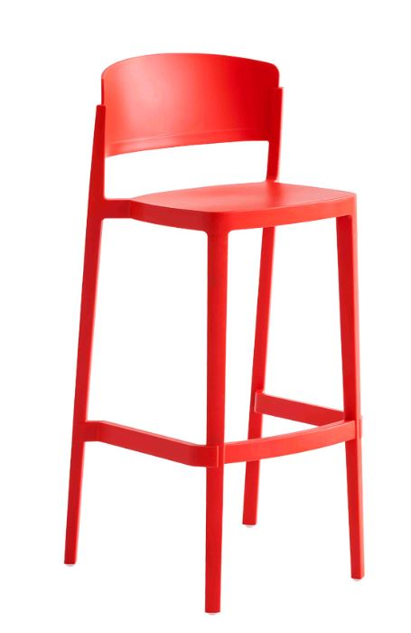 abuela stool red