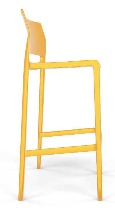 Bakhita stool all yellow