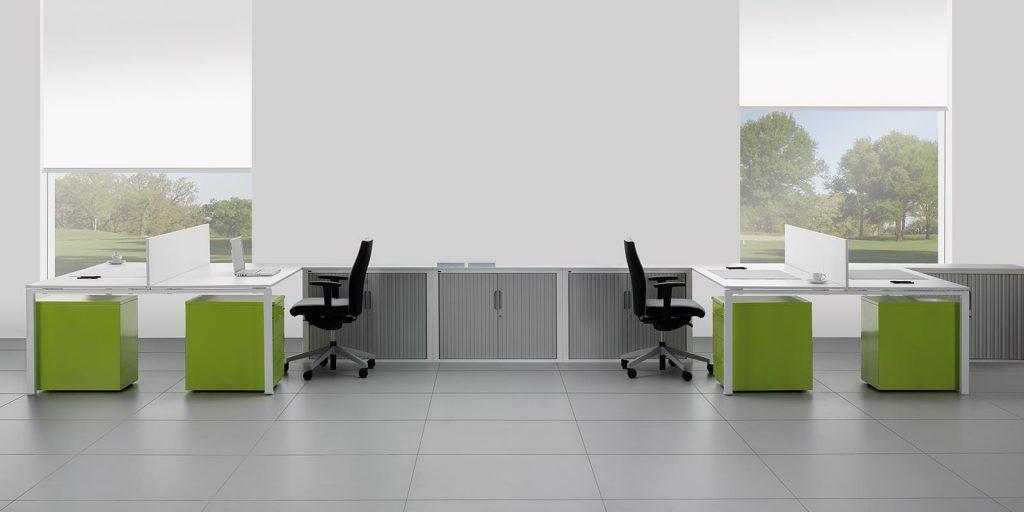 tambour desk high cabinet