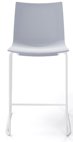 Kanvas stacking stool grey