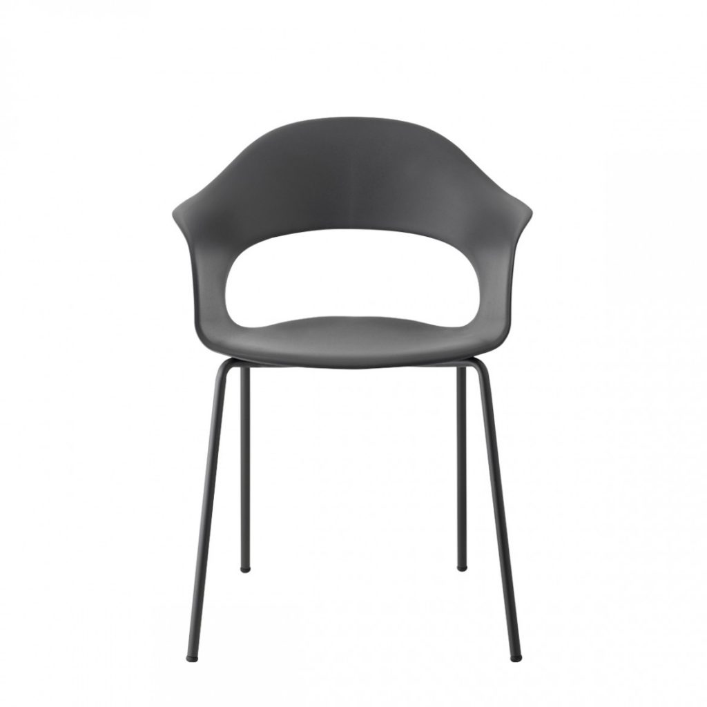 lady b tub chair black