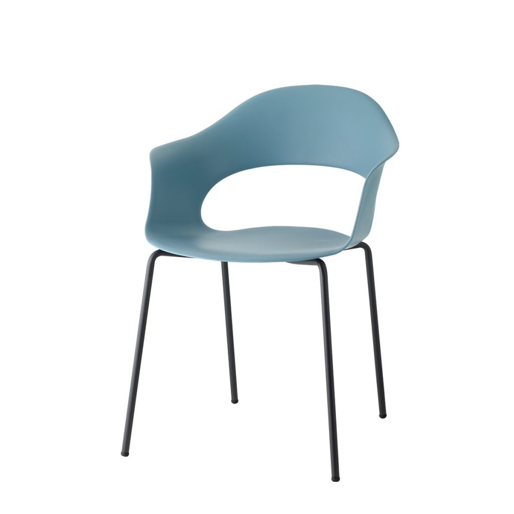 lady b tub chair blue