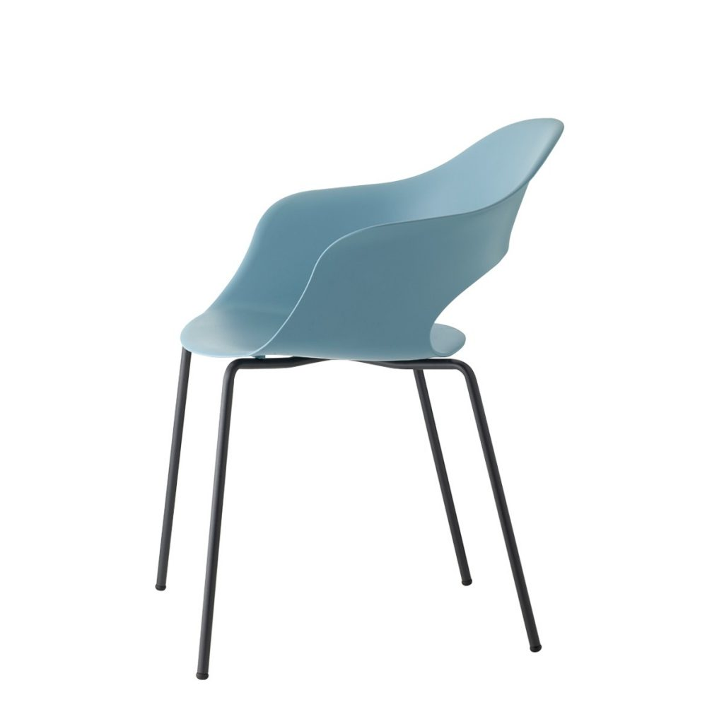 lady b tub chair in blue