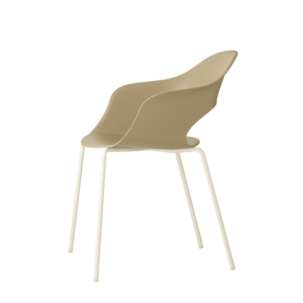 lady b tub chair in cream