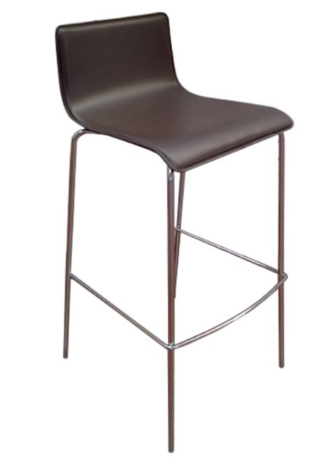 Lila stool covered