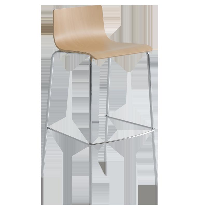 lila plywood stool