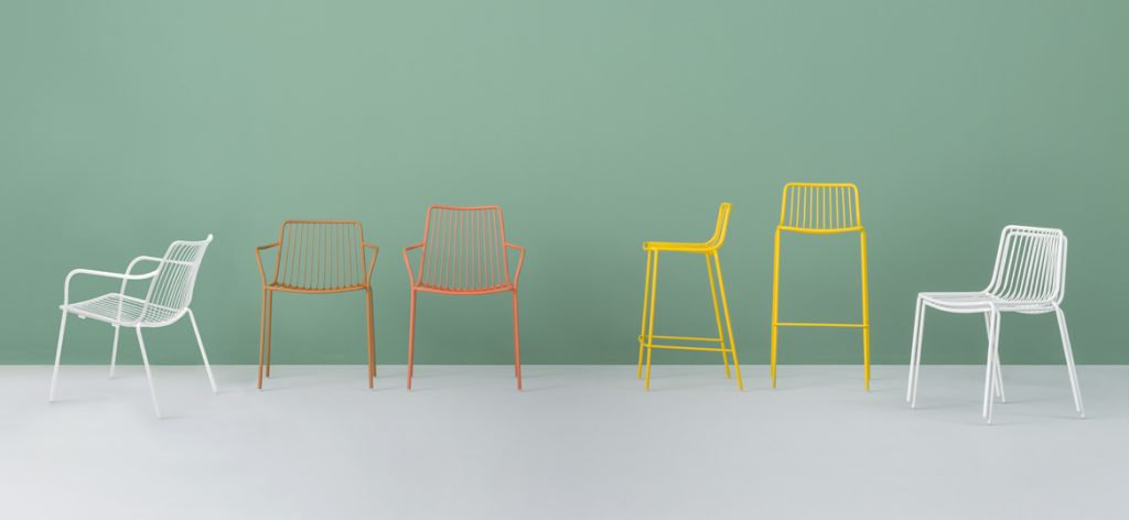 nolita stool and chair range