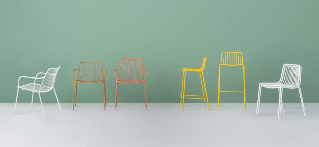 nolita stool and chair range