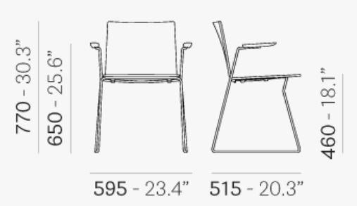 osaka chair technical