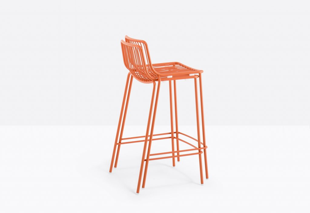 nolita stool stacker red