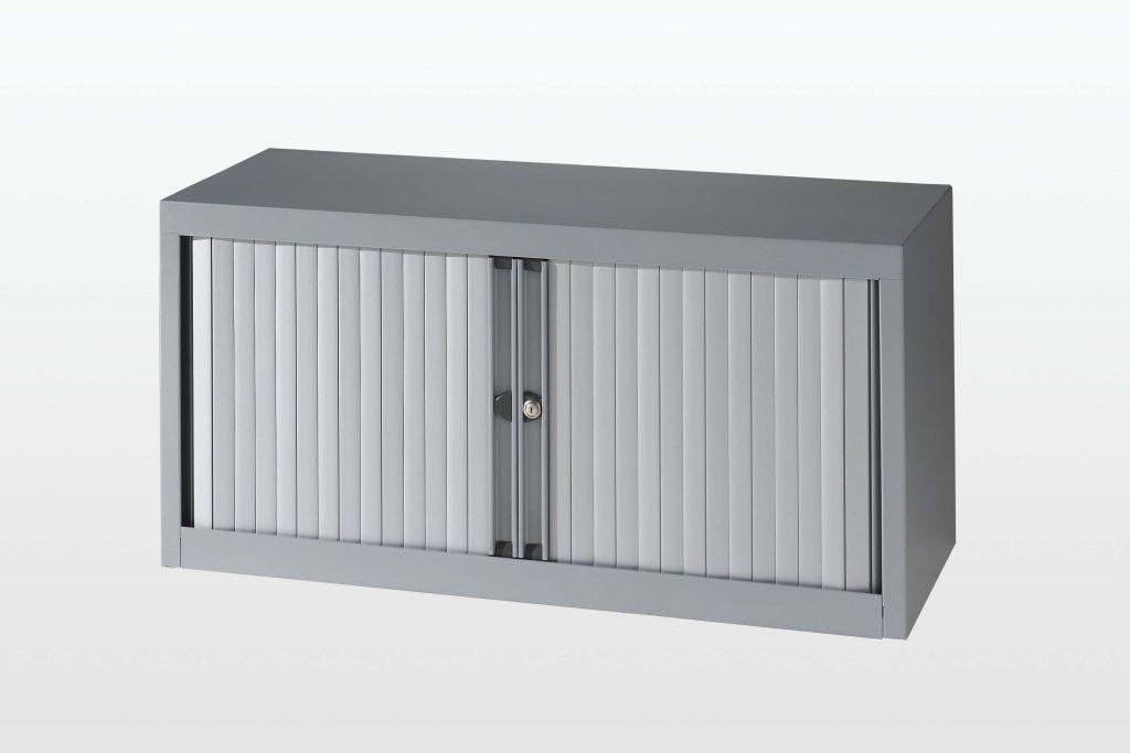 tambour storage cabinet top unit