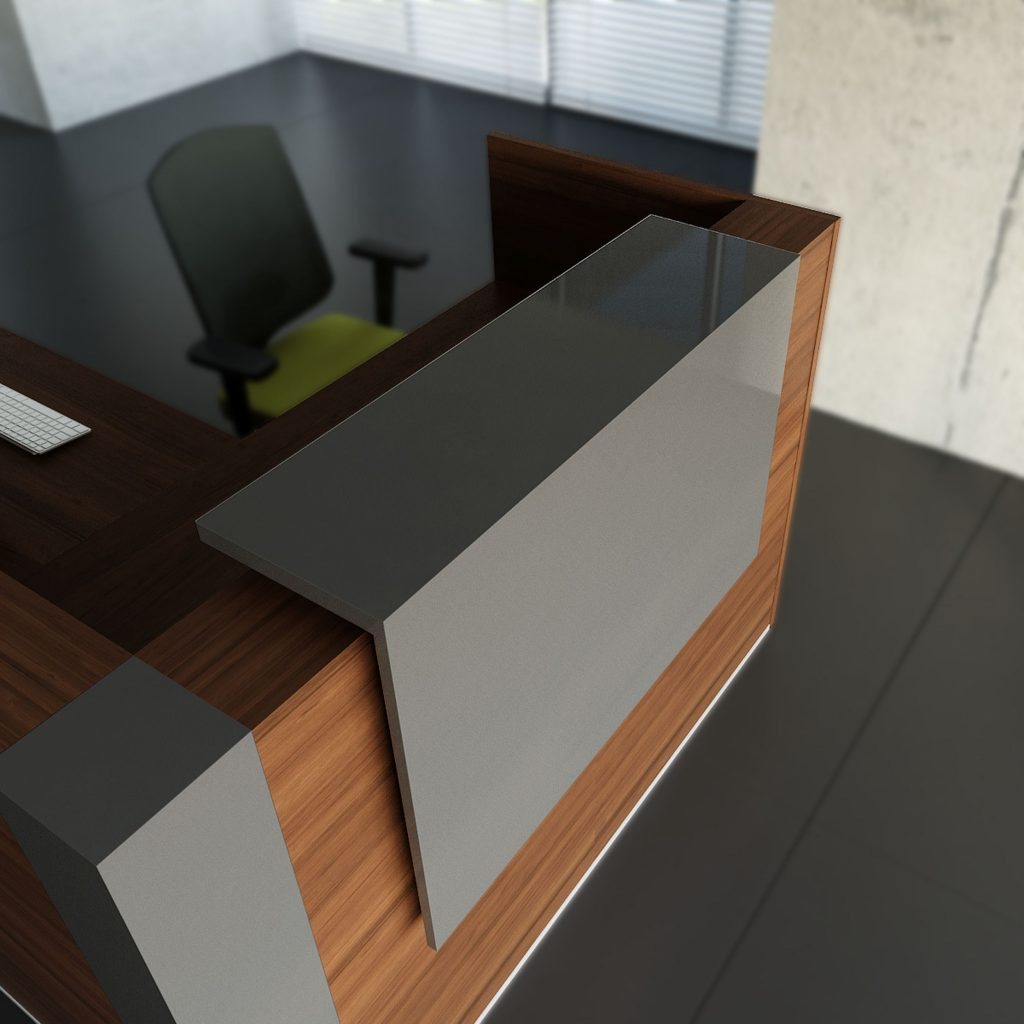 tera reception counter desk