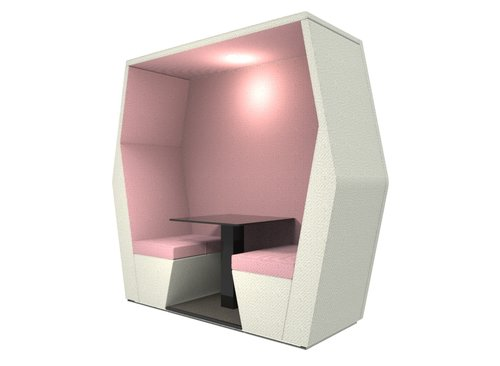 bill pod 2 seat den with wall
