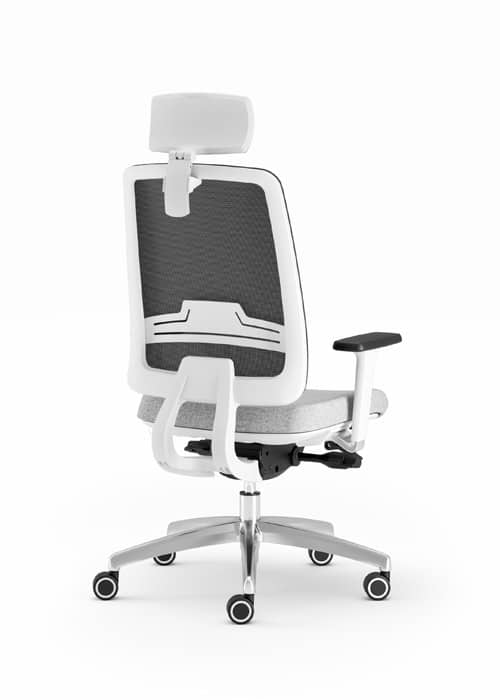absolute operator chair white 231/cwpm