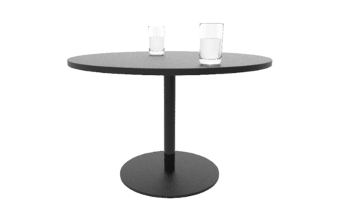 ben round coffee table