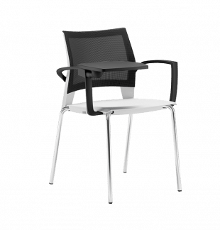 gaius Mesh chair with tablet