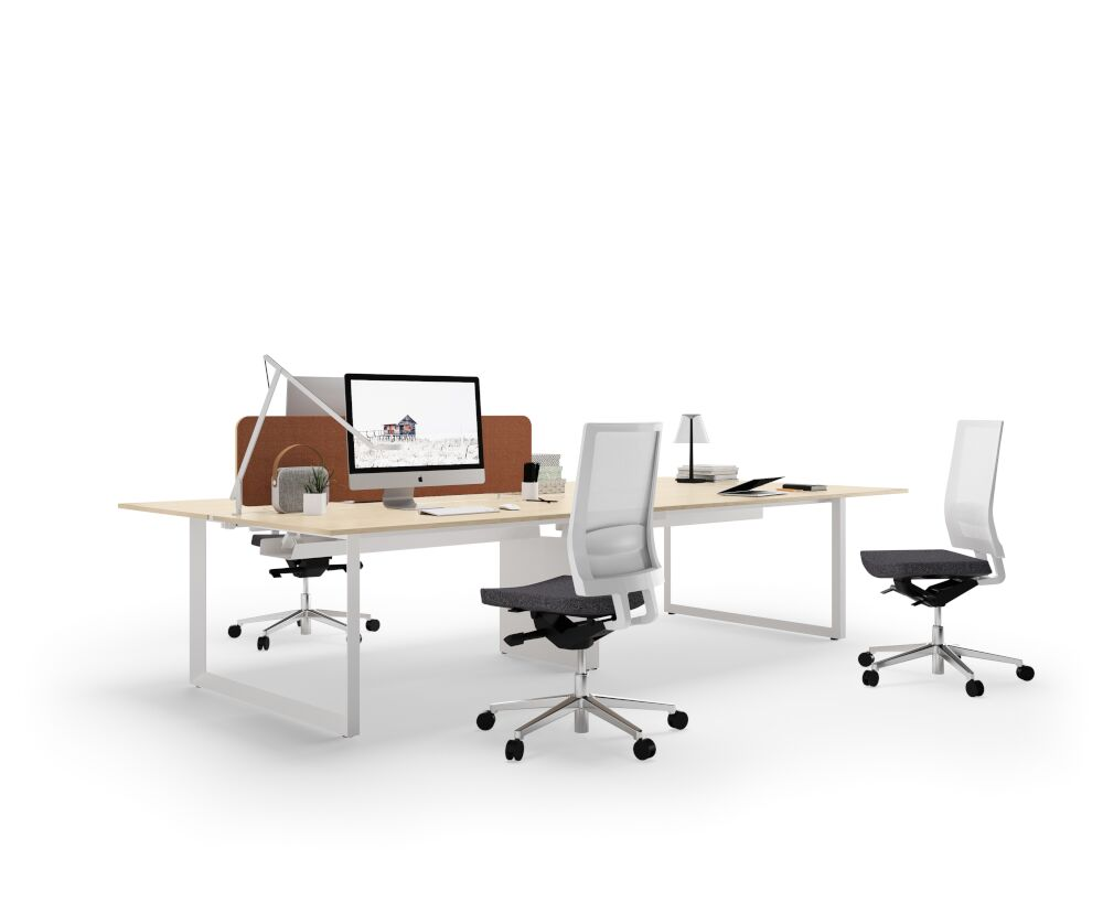 Diamond bench workstation desk