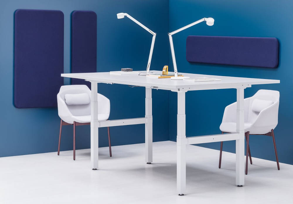 Electrical sit stand meeting table
