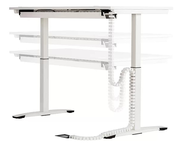 cable snake sit stand Desk