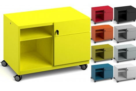 caddie desk box storage colour options