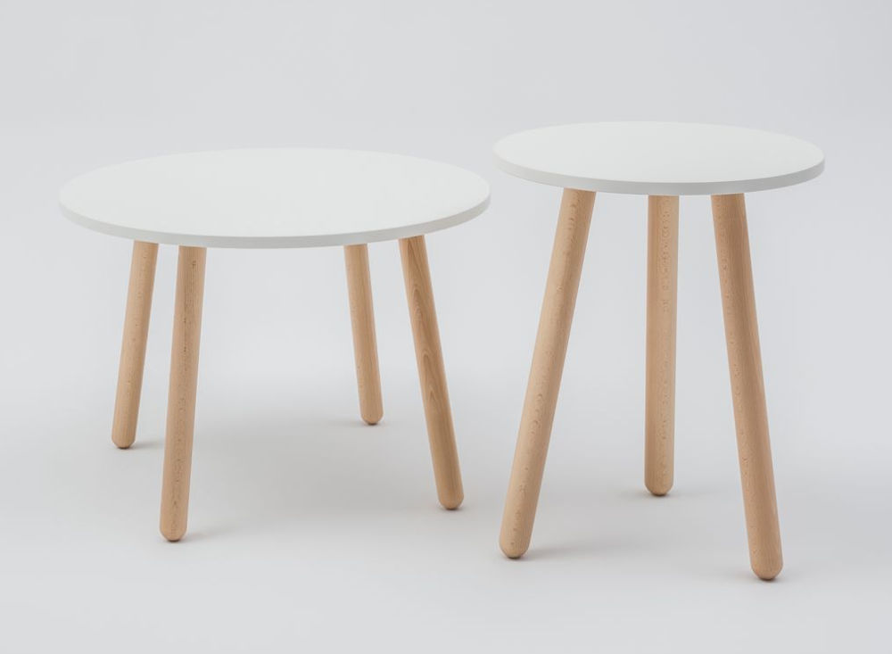 canteen table coffee wood legs