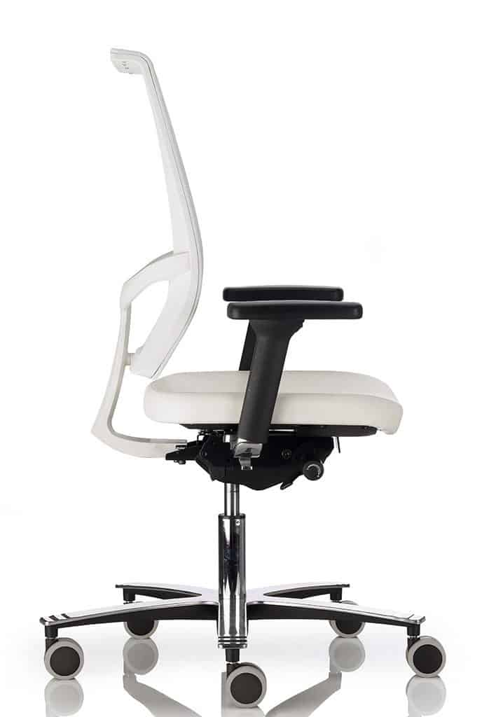 eva office chair side view