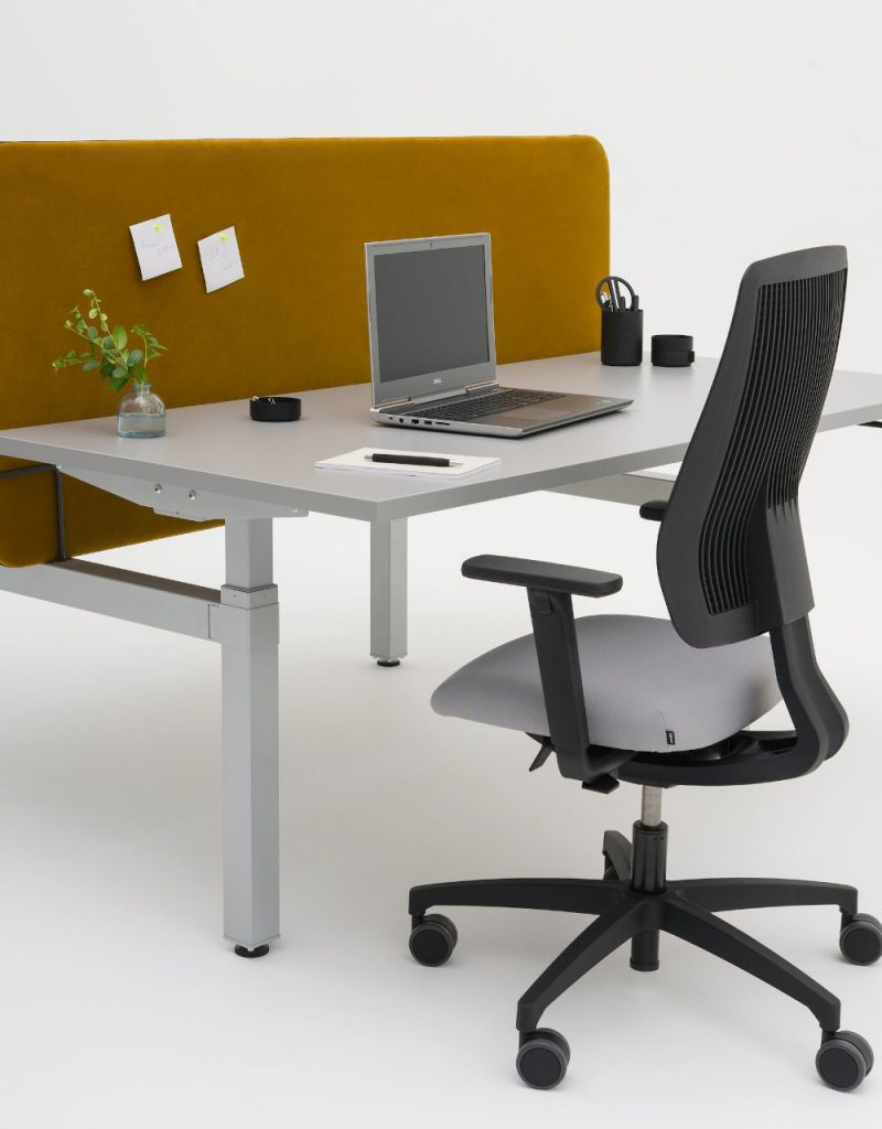 sit stand double desk drive