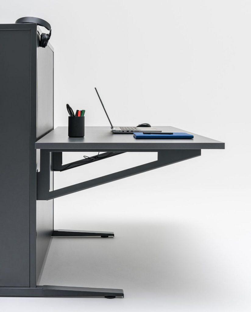 flow sit stand desk